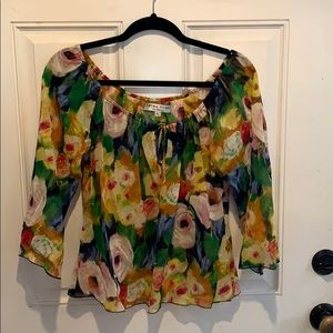 Trina Turk Los Angeles blouse.
